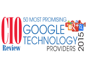 CIO Review Top 50 Most Promising Google Tech Providers