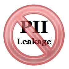 Stop PII Leakage