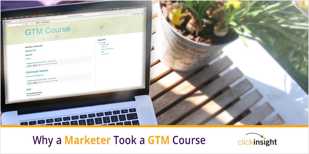 ClickInsight GTM Course