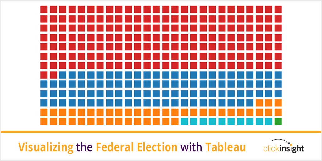 Visualizing Canadian Federal Election Results with Tableau