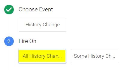 Create a History Change Trigger