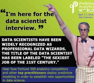 Dr. Data at Predictive Analytics World