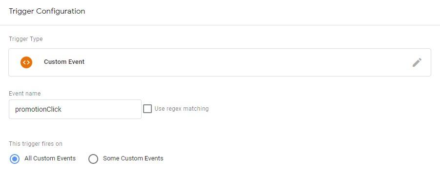 Event - Internal Promotion Click trigger
