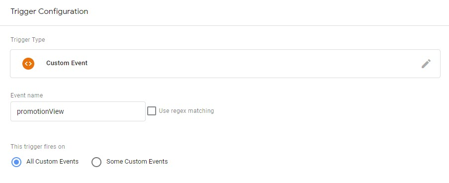 Event - Internal Promotions View trigger