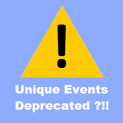 nique Events Metric Deprecated