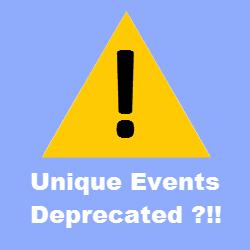 nique Events Metric Deprecated