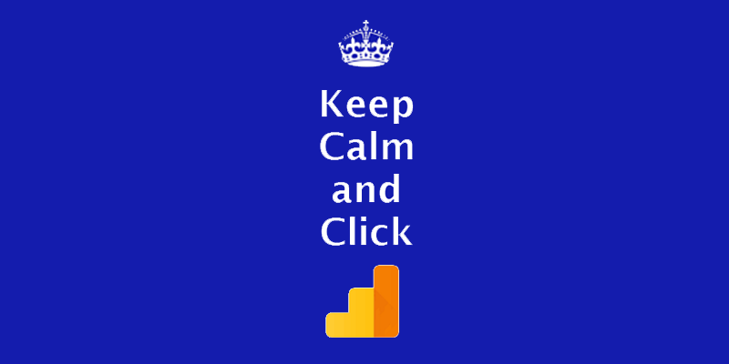 keep calm and click