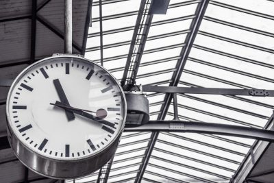 Clock - Train Station