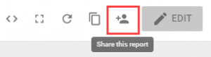 DS Dashboard Share Report Button