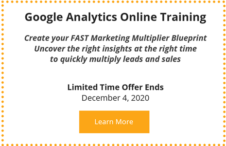 Link to FAST Accelerator Program Google Analytics